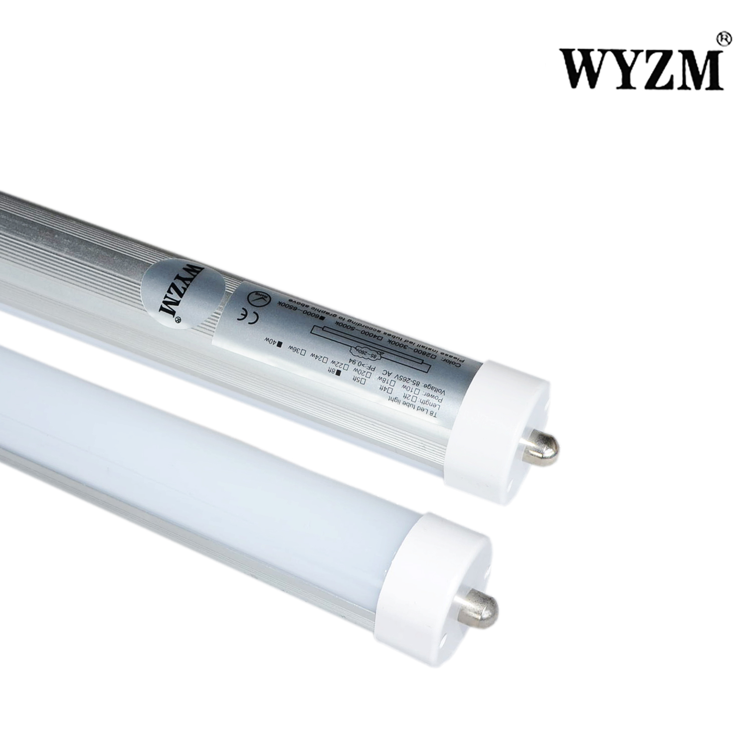 High quality 8ft long 8ft led tube light fixture 75Watt T12 Linear Fluorescent Tube Replacement
