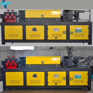 Wire Rod Straightening & Cutting Machine,Hydraulic Type And Mechanical Type
