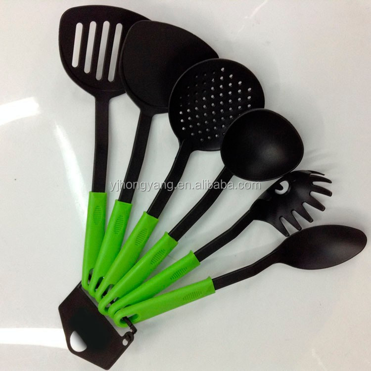 Nylon kitchenware for cooking tools and kitchen accessory and utensil