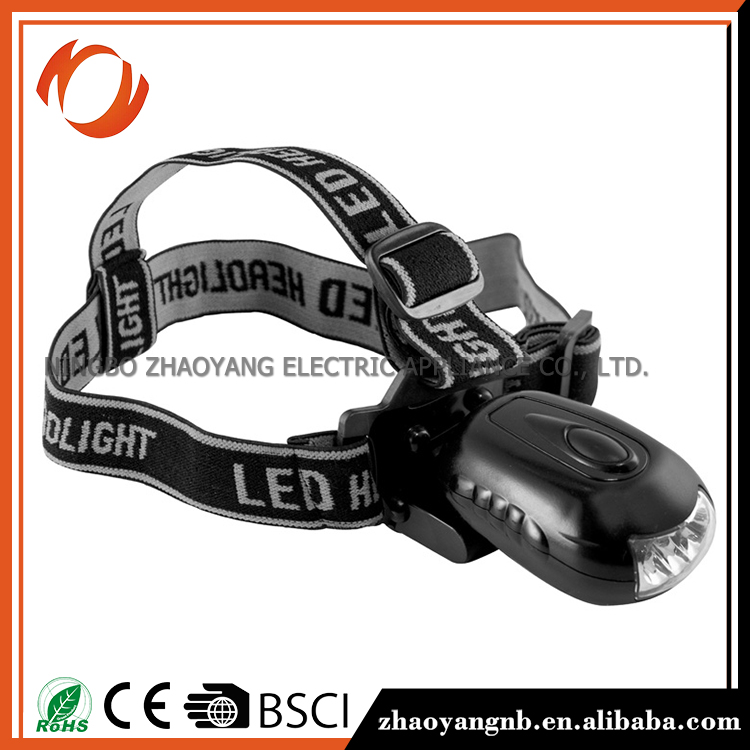 Miniture rechargeable head lamp led headlamp