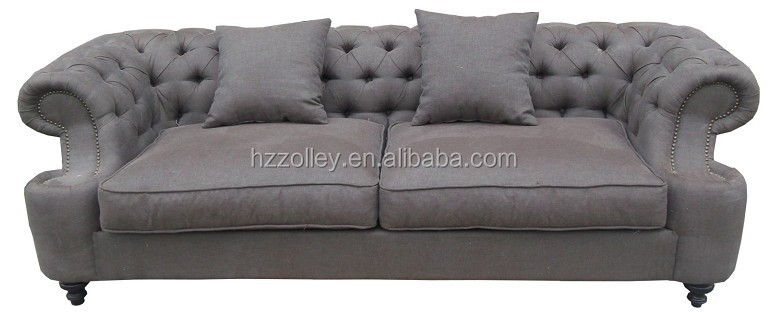 French Accent Style Living Room Sofa Chaise Couch A Lazy
