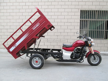 Big Cargo Box 3 Wheels Motorcycle Tricycle for China Factory