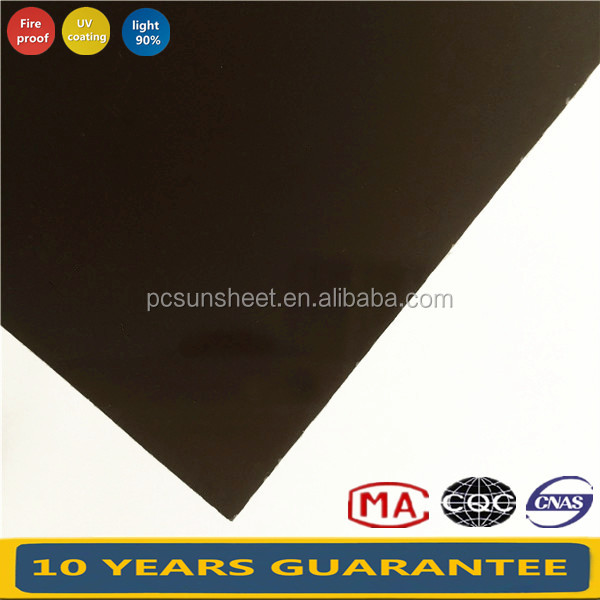 Wholesale market Solid Polycarbonate roof sheet for greenhouses