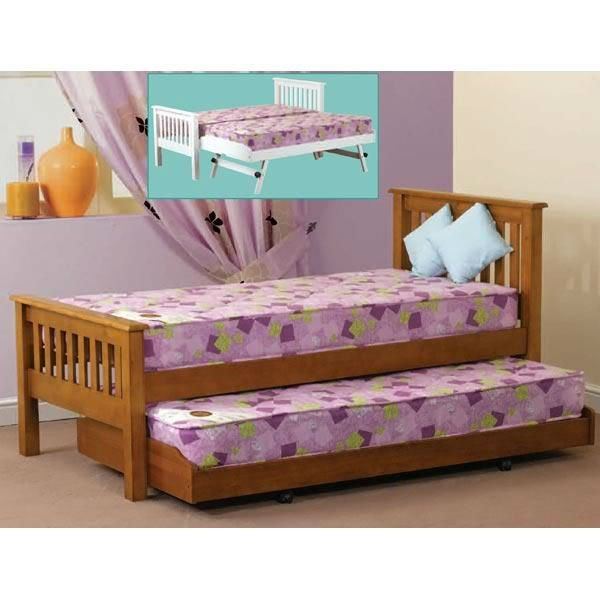 Sweetdreams Trundle/Pull out Bed made of Gemilina wood