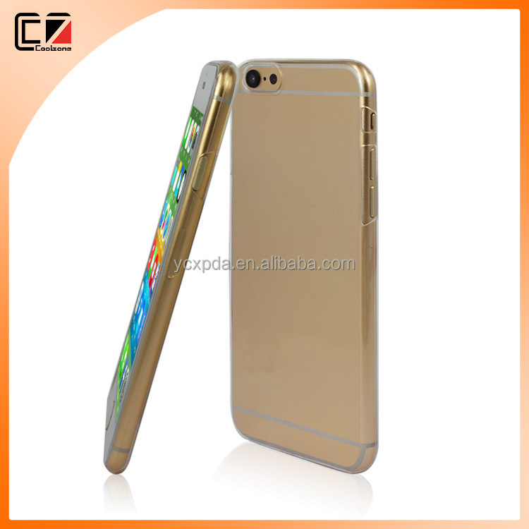 2016 hot selling Transparent PC TPU Bumper Case For iPhone 6 Case for iPhone 6s