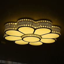 Modern fashion 90w 150w 200w led ceiling lamp round iron acrylic light for indoor use
