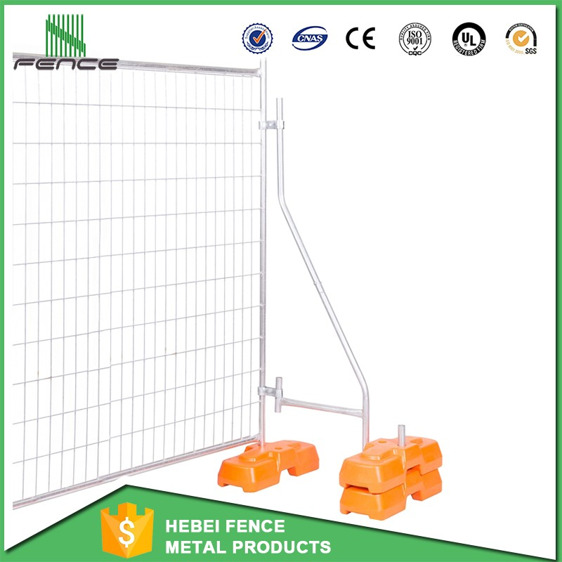 Australia standard temporary fence / temporary fence removable fence / temporary fence post base