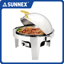 Sunnex Hot selling Deluxe Roll Top guangzhou chafing dish