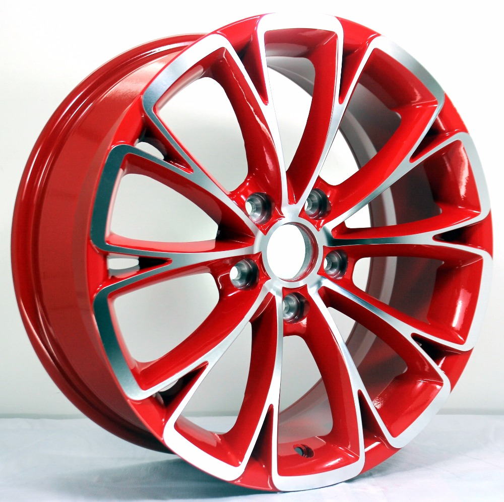 17 hot selling wholesale aluminum alloy rims car wheel
