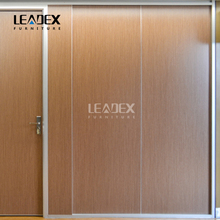 China manufacturer aluminium folding partition wall for commercial offices