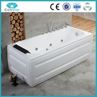Classical Design Massage Whirlpool Bathtub