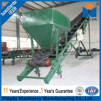 Superior quality belt conveyor for corn