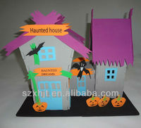 haunted house diy foam craft kits for Halloween