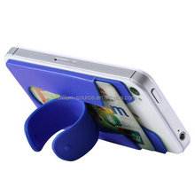 Universal Touch C Silicone Portable Phone Stand Up Card Holder