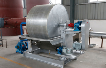 Vacuum dehydrator for dewatering of potato/ cassava/ sweet potato starch, key starch processing