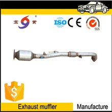 2017 chinese factory price manufacture car stainless steel exhaust muffler silencer pipe