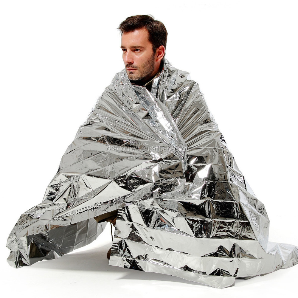 DW-EB001 Foil Survival Rescue thermal emergency blankets