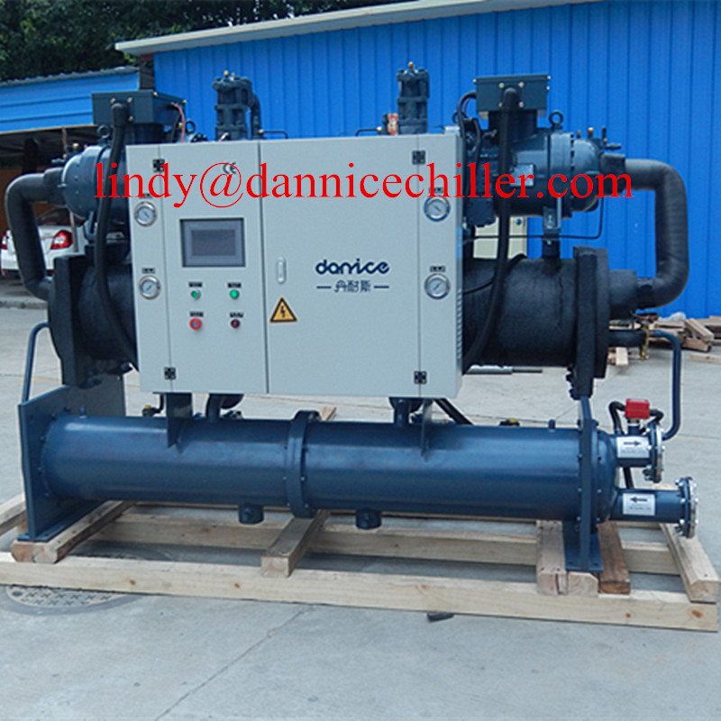 High Efficient Screw Type Industrial Water cooled Screw Chiller