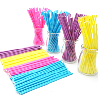 Disposable Tea Stir Coffee Paper Colorful Stirrers Sticks
