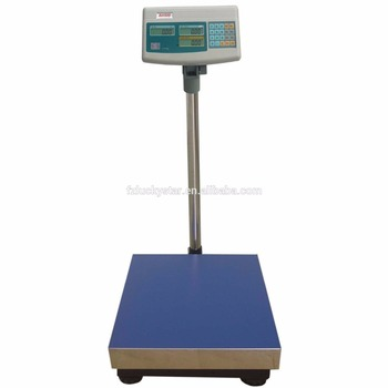 LCD/LED Display Portable Electronic Weight Platform Scale 600KG