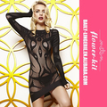 Wholesale Girl See Through Black Fashion Babydoll Lingerie
