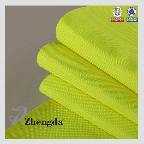 100% polyester PVC Coating Reflective Fabric