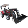 China best super quality hot sale small garden tractor with front-end loader