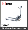 Topmost Quality Stainless Steel Hydraulic Pump Hand Pallet Truck With Rubber,Nylon,PU Wheel