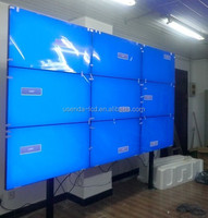 "46"" floor stand 3x3 5.3mm Samsung LCD panel led Video wall with Full HD 1920*1080"