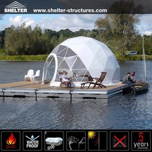 2016 new design outdoor waterproof High Quality Geodesic Dome