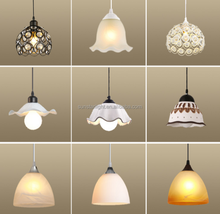 Different Style And Size Metal Glass Simple Desgin Cheap Pendant Light/Lamp