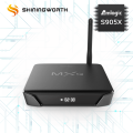 Top selling android 6.0 4K S905X Quad Core h.264 h.265 OTT TV Box