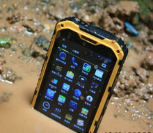 4 inch rugged 3G phone MTK6572 IP68 dual sim cell phone Waterproof Dustproof Shockproof 4 inch android mobile phone