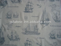 2015 JS Yard Hot Sale Printed Cotton Fabric,Upholstery Fabric,Home Textile