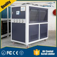 Efficient power saving excellent performance containerized water chiller for concrete cooling system