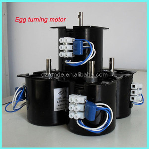 high efficiency automatic incubator egg turner motor for incubator machine