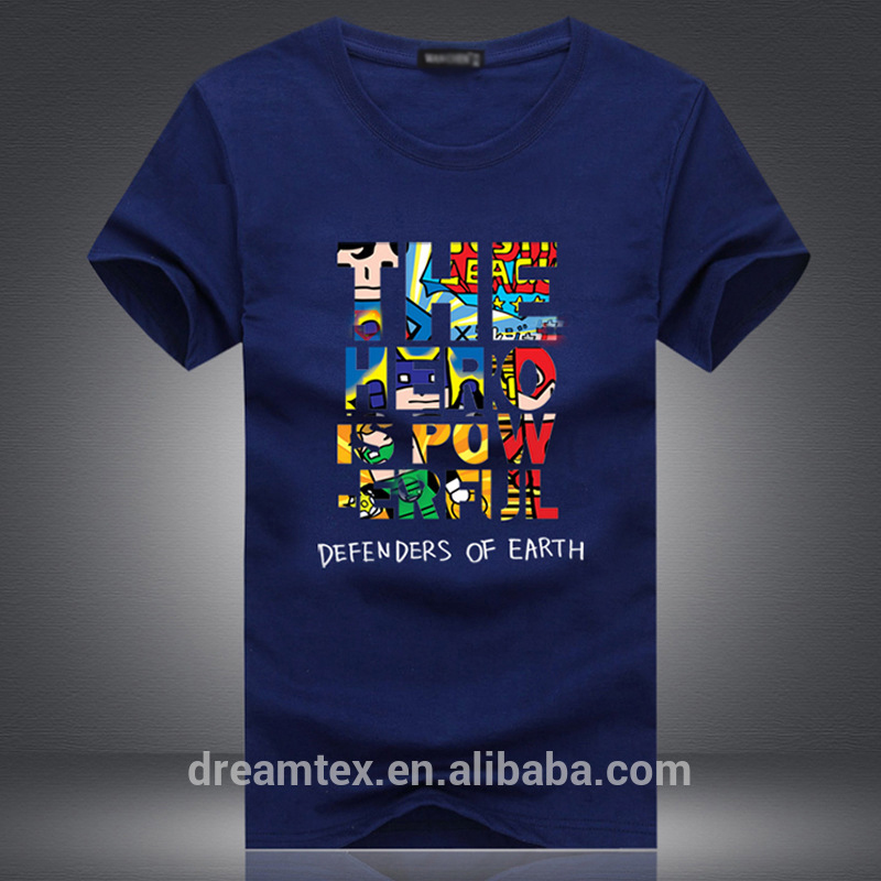 men's sublimation printed custom t shirt printing custom t shirt