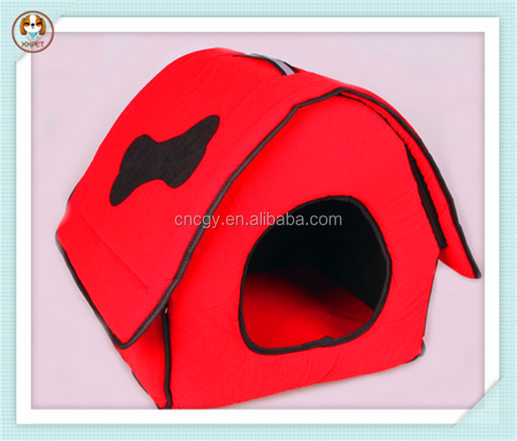 Flocking cloth popular pet wholesale fabric dog house