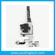 Original Earphone Audio Jack Power Volume Mute Silent Switch ON OFF Flex Ribbon Cable Replacement Repair Parts for iPhone 4S