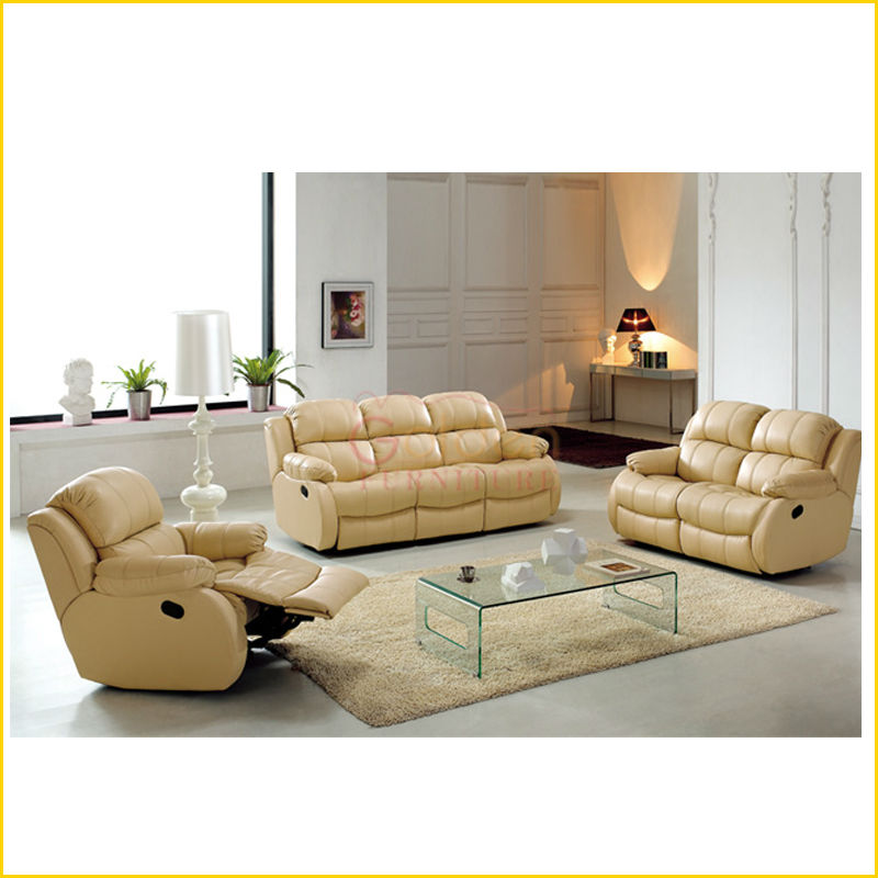 living room modern recliner sofa set EA36#