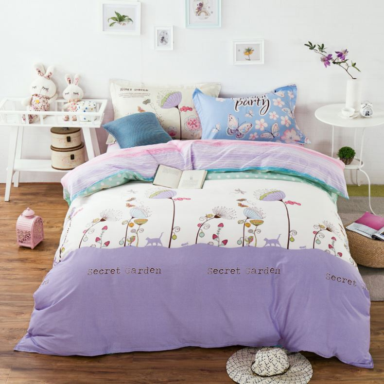 Good performance embroidery bed cover designs standard size
