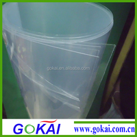 Gokai clear 0.5mm flexible pvc sheet roll