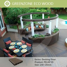 easy installation low maintenance high quality outdoor floor wpc eco deck