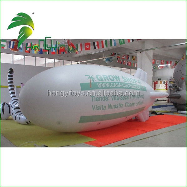 Inflatable pvc Helium Blimp for Promotion