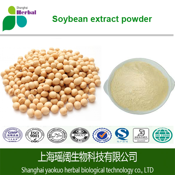 High Quality Natural Soybean Extract, Soybean Extract Powder