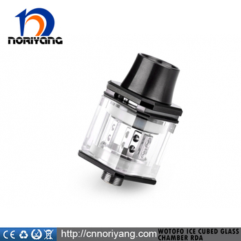 Authentic Wotofo Ice Cubed Glass Chamber Velocity RDA