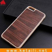 Shenzhen custom made wholesale TPU wood cell phone case for iphone cover