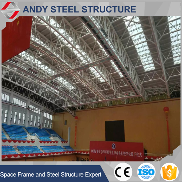 Beautiful appearance durable and stable steel building sports complex