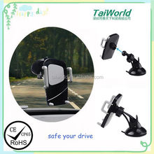 2016 Universal Newest Design 360 Degree Rotation Suction Cup Car Windshield Mobile Phone Holder