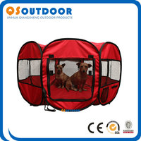 Red Folding Pet Dog Supplies Playpen